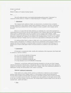 Fee For Service Contract Template  Sample