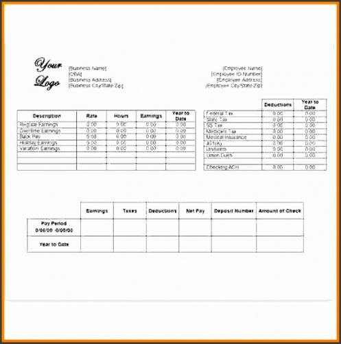 Printable Independent Contractor Profit And Loss Statement Template Excel Example