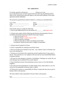 Professional Short Term Contract Template Doc