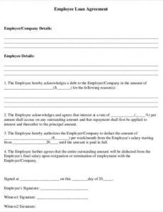 Best Employee Salary Contract Template Doc