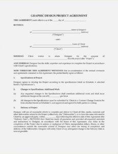 Best Fence Installation Contract Template  Sample