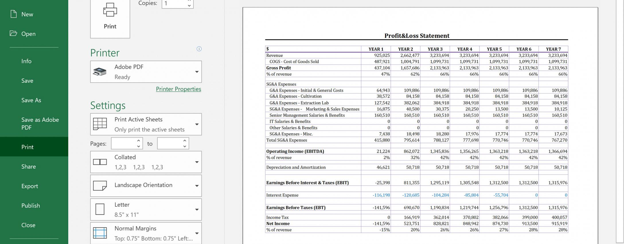 Best Income Statement For Manufacturing Company Template Pdf Sample