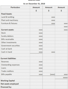 Costum Income Statement For Manufacturing Company Template
