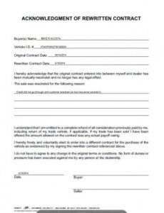 Costum Installment Payment Contract Template Pdf