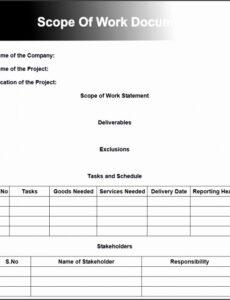 Editable Fence Installation Contract Template Word Sample