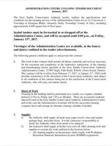 Editable Janitorial Cleaning Contract Template Pdf Sample