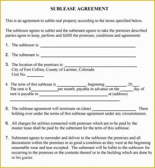 Free Snow Plow Contract Template Word Example