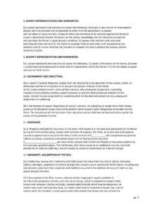 Horse Training Contract Template  Example