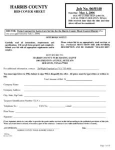 Printable Lawn Service Contract Template Excel