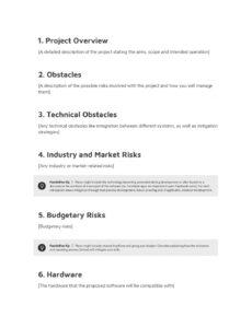 Printable Software Development Statement Of Work Template