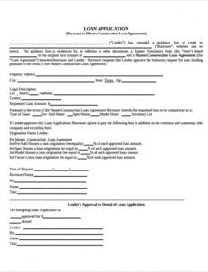 Printable Standard Construction Contract Template Excel