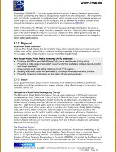Professional Company Vehicle Policy Template Excel Sample