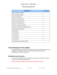 Professional Procurement Statement Of Work Template Word Example