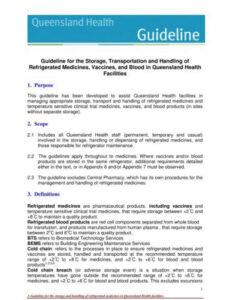 Professional Vaccine Management Policy And Procedure Template Doc