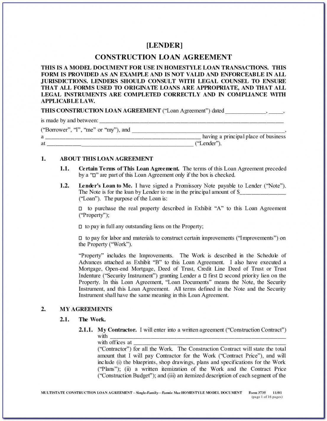 Best Auto Financing Contract Template Pdf