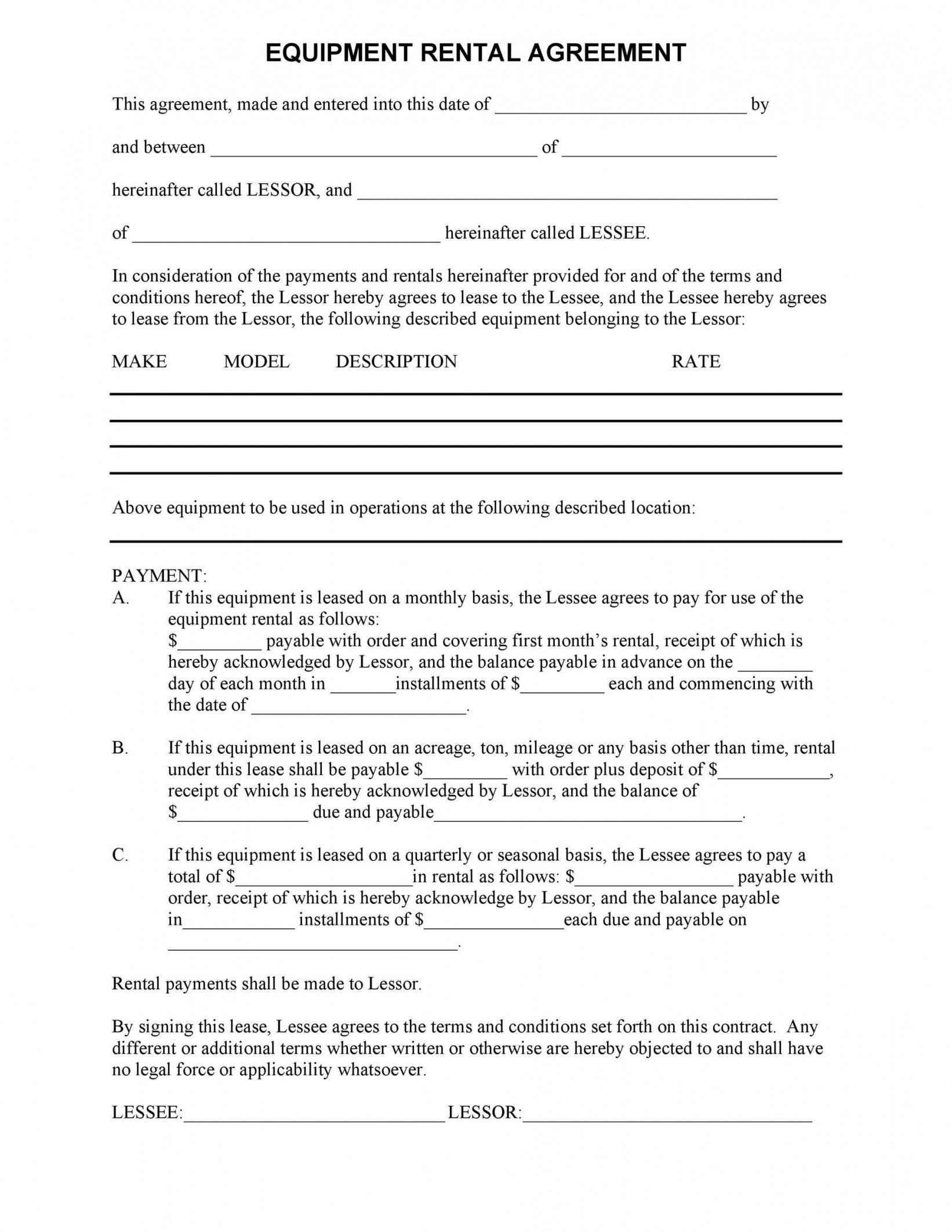 Best Buy Out Contract Template Doc