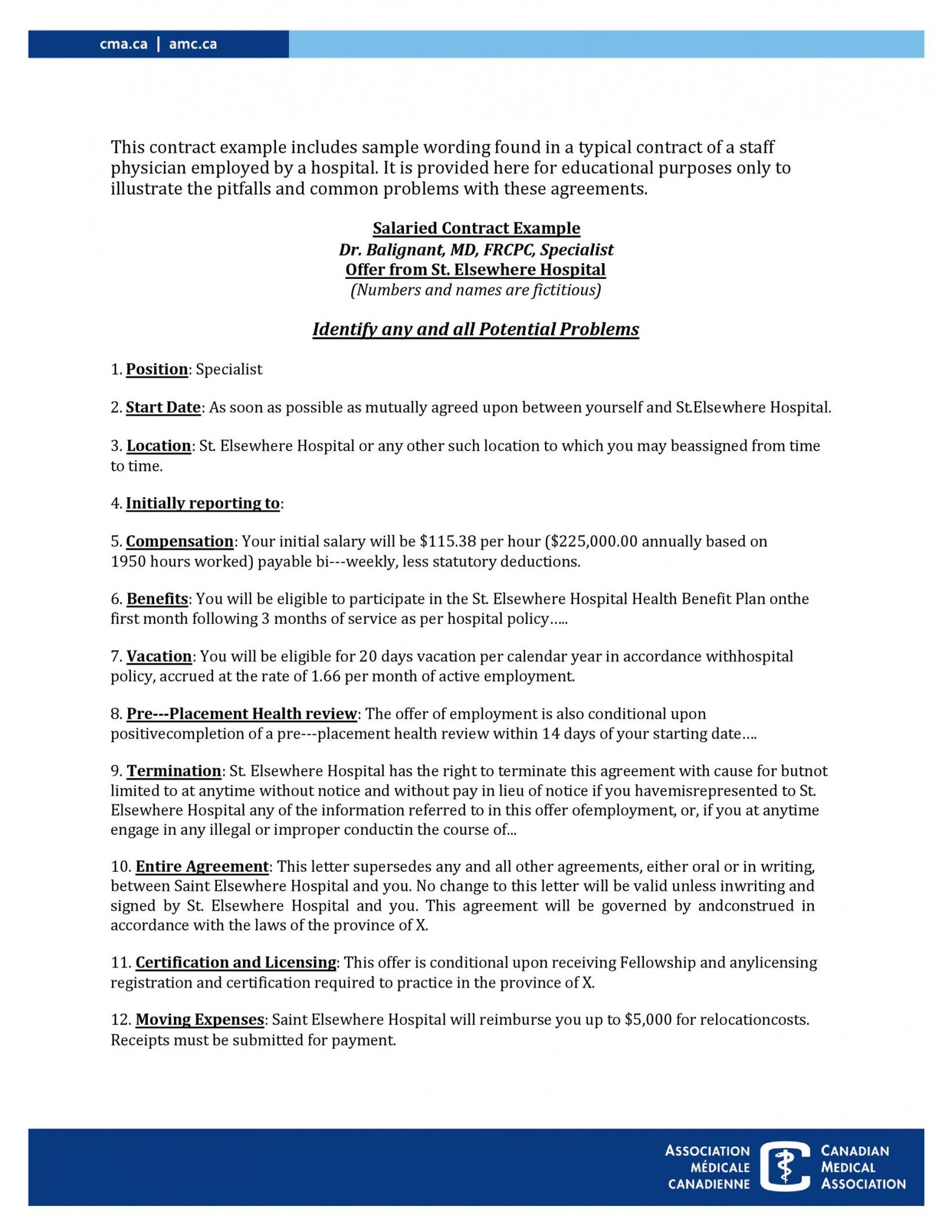 Best Commission Only Contract Template Pdf Example