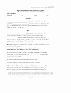 Best Owner Carry Contract Template Word Example