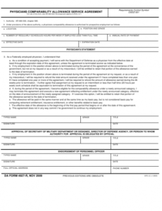 Costum Allowance Contract Template Excel Sample