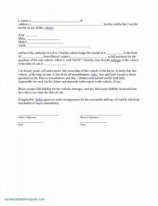 Costum Auto Financing Contract Template Word Sample