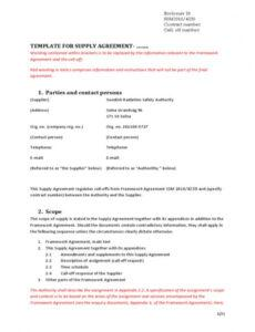 Costum Fixed Price Construction Contract Template Excel