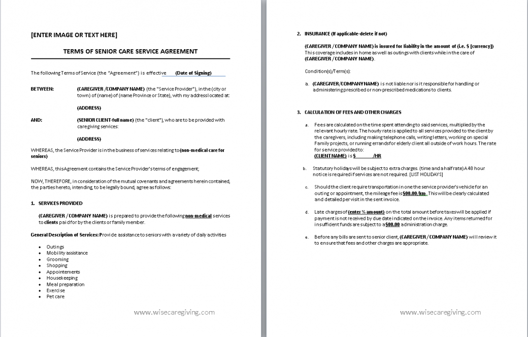 Costum Medical Billing Contract Template  Sample