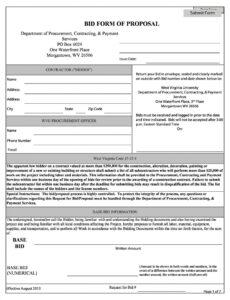 Editable Time And Materials Contract Template Construction
