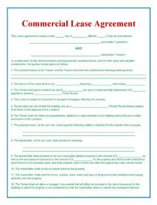 Free Buy Out Contract Template Word Sample