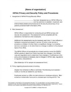 Free Cyber Security Policy Template  Example