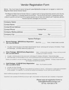 Free Food Vendor Contract Template Word Sample
