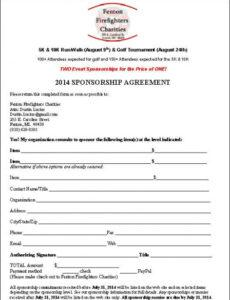 Free Sports Management Contract Template Word Sample