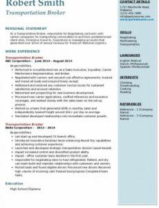 Freight Broker Contract Template Doc