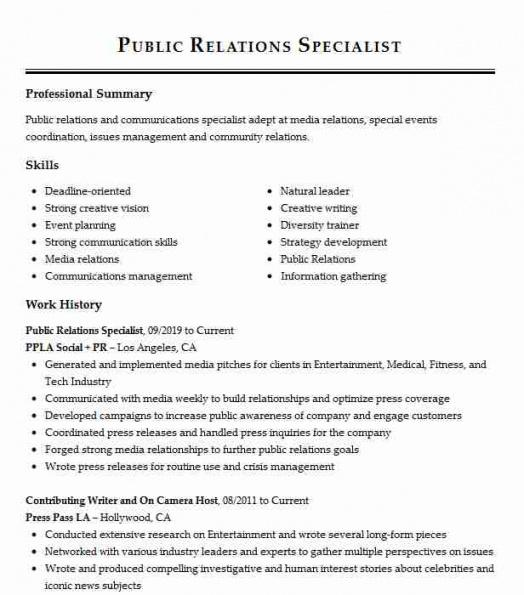 Printable Public Relations Commission Contract Template Word Example