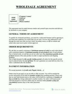 Printable Restaurant Consulting Contract Template Word