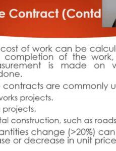 Professional Cost Plus Fixed Fee Contract Template Pdf Sample