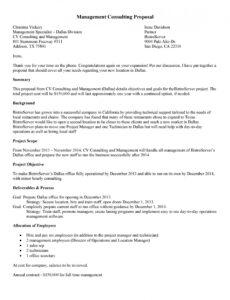 Restaurant Consulting Contract Template Word