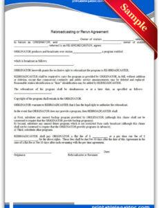 Best Copyright Transfer Statement Template Excel