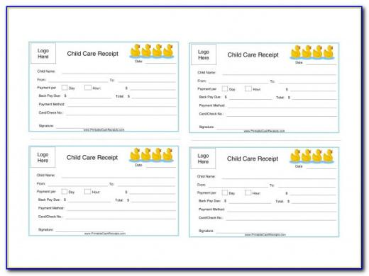 Best Daycare Income Statement Template Excel Sample