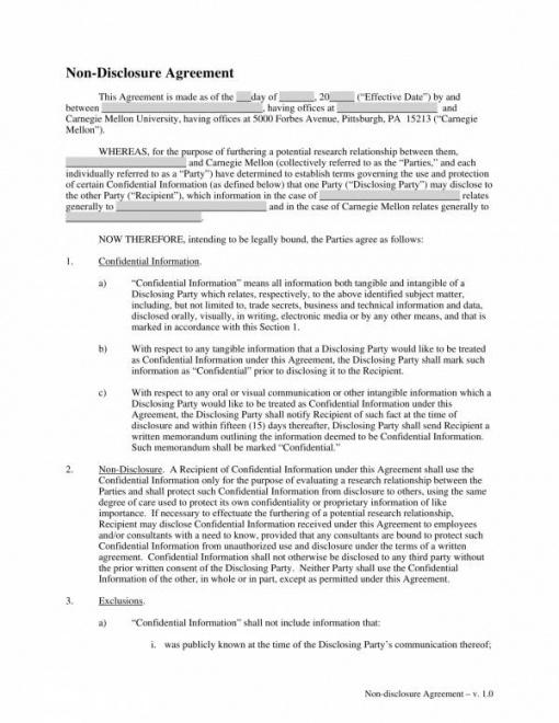 Best Product Disclosure Statement Template Doc Example