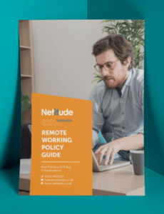 Best Work From Home Policy Template Doc Example