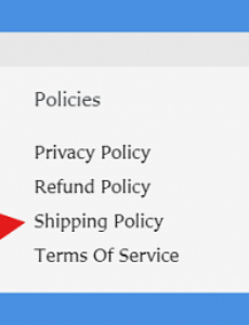 Dropshipping Return Policy Template Word Example