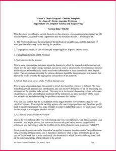 Editable Research Problem Statement Template Doc
