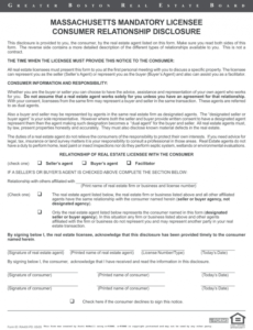 Editable Risk Disclosure Statement Template Excel Example