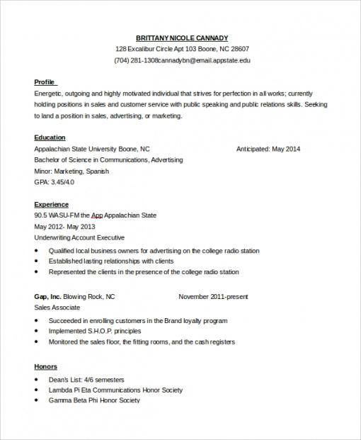 Free Customer Service Personal Statement Template  Example