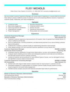 Free Customer Service Personal Statement Template Pdf Example