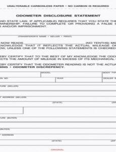 Free Product Disclosure Statement Template Pdf Sample
