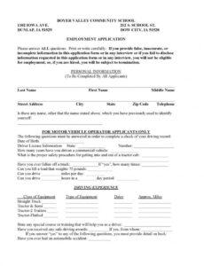 Printable Delivery Driver Contract Template Pdf Example