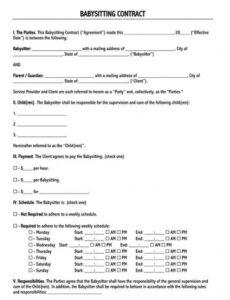 Printable Delivery Driver Contract Template Pdf Sample