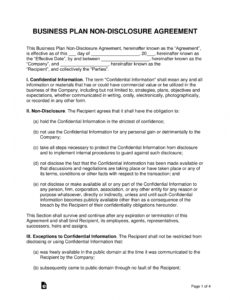 Printable Pre Contract Disclosure Statement Template  Sample