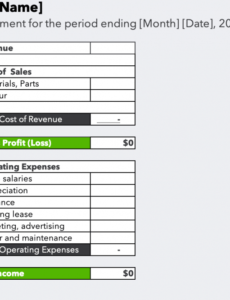 Professional Business Customer Statement Template Pdf Example